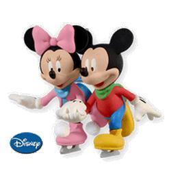 2010 Disney - Skating Side By Side Hallmark Ornament