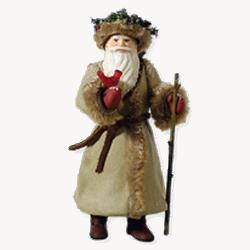 2010 Father Christmas #7 Hallmark Ornament