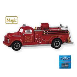 2010 Fire Brigade #8 - 1951 Ford Fire Engine Hallmark Ornament