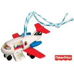 2010 Fisher Price - Play Family Fun Jet Hallmark Ornament