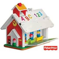 2010 Fisher Price - Play Family School Hallmark Ornament