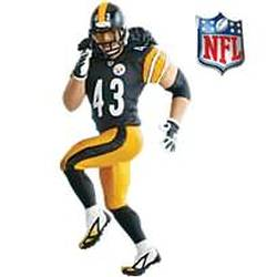 2010 Football - Troy Polamalu Hallmark Ornament