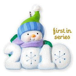 2010 Frosty Fun Decade #1 Hallmark Ornament