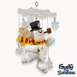 2010 Frosty The Snowman - A Magical Kind Of Snow Hallmark Ornament