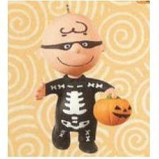 2010 Halloween - Skele-brating Charlie Brown Hallmark Ornament