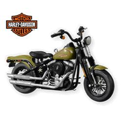 2010 Harley Davidson #12 - 2009 Softail Cross Bones Hallmark Ornament