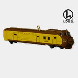2010 Lionel #15 - Union Pacific Streamliner Loco Hallmark Ornament