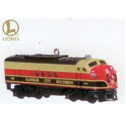 2010 Lionel- Kansas City Southern Locomotive Ltd Hallmark Ornament