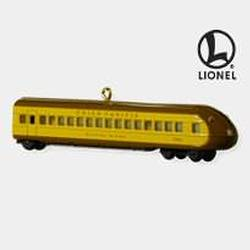 2010 Lionel Union Pacific Streamline Buffet Coach Hallmark Ornament