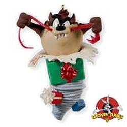 2010 Looney Tunes - Taz Unwrapped Hallmark Ornament
