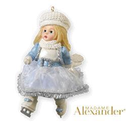 2010 Madame Alexander #15 - Dazzling Winter Skater Hallmark Ornament