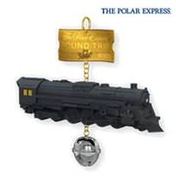 2010 Polar Express - Round Trip Ticket Hallmark Ornament