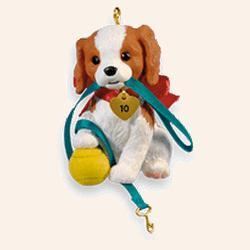 2010 Puppy Love #20 Hallmark Ornament