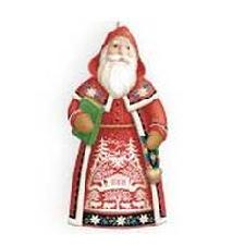 2010 Santas From Around The World - Switzerland Hallmark Ornament