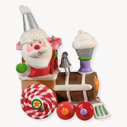 2010 Santa's Sweet Ride #4 Hallmark Ornament