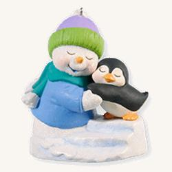 2010 Snow Buddies #13 - Penguin Hallmark Ornament