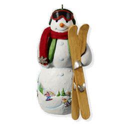 2010 Snowtop Lodge #6 - Freddy F Freestyle Hallmark Ornament