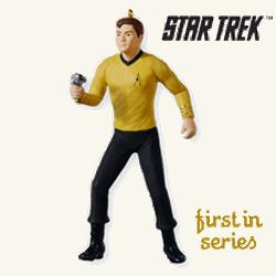 2010 Star Trek #1 - Captain James T Kirk Hallmark Ornament