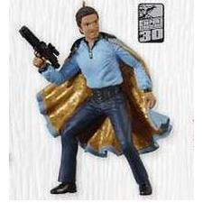 2010 Star Wars - Lando Calrissian - Limited Hallmark Ornament