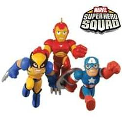 2010 Super Hero Squad Hallmark Ornament