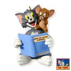2010 Tom And Jerry - How To Catch A Mouse Hallmark Ornament