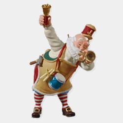 2010 Toymaker Santa #11 Hallmark Ornament