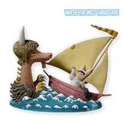 2010 Where The Wild Things Are - Max Sets Sail Hallmark Ornament