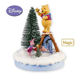 2010 Winnie The Pooh - Deck The Woods Hallmark Ornament