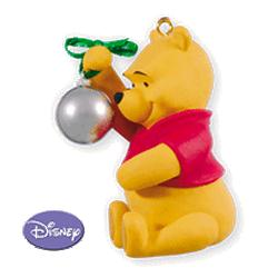 2010 Winnie The Pooh - Pooh Reflects On Christmas Hallmark Ornament