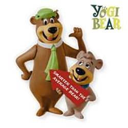 2010 Yogi Bear - Smarter Than The Average Bear Hallmark Ornament