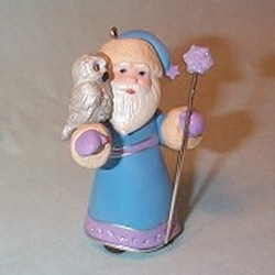 2011 A Visit From Santa  - Colorway - Event Hallmark Ornament