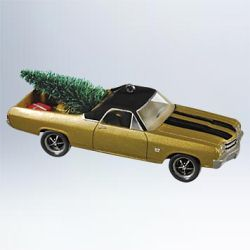 2011 All American Trucks #17 - 1970 Chevrolet El Camino Hallmark Ornament