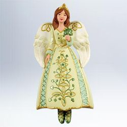 2011 Angels Around The World #1 - Ireland Hallmark Ornament