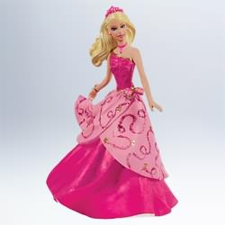 2011 Barbie As Blair Hallmark Ornament