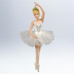 2011 Barbie - Prima Ballerina Barbie Hallmark Ornament