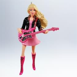 2011 Barbie - Rockin Barbie Hallmark Ornament