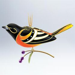 2011 Beauty Of Birds #7 - Baltimore Oriole Hallmark Ornament