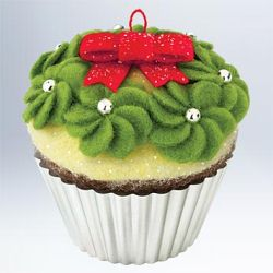 2011 Christmas Cupcakes #2 - Simply Irresistible Hallmark Ornament