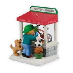 2011 Christmas Windows #9 - Club Hallmark Ornament