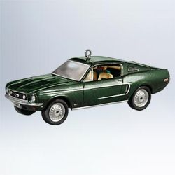 2011 Classic Cars #21 - 1968 Ford Mustang Gt Hallmark Ornament