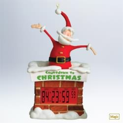 2011 Countdown To Christmas - Extra Large Hallmark Ornament