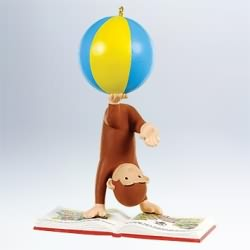 2011 Curious George - Reading Is A Ball Hallmark Ornament