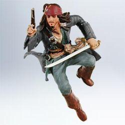 2011 Disney - Captain Jack Sparrow Hallmark Ornament