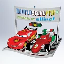 2011 Disney - Cars 2 - International Race Rivals Hallmark Ornament