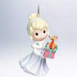 2011 Disney - Cinderella - Precious Moments Hallmark Ornament