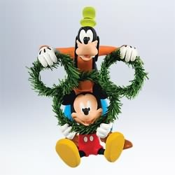 2011 Disney - Decking The Halls Hallmark Ornament