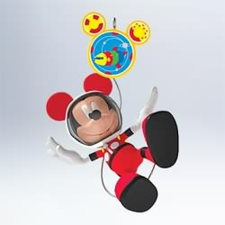 2011 Disney - Mickey And Toodles In Space Hallmark Ornament