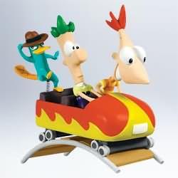 2011 Disney - Phineas And Ferb Hallmark Ornament