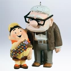 2011 Disney - Pixar Legends #1 - Up Hallmark Ornament
