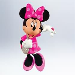 2011 Disney - Sweetheart Minnie Mouse Hallmark Ornament